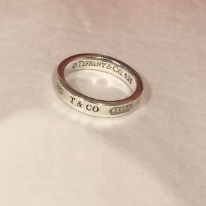 Authentic Tiffany & Co 1837 Sterling Silver